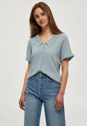 ELISSA - Button-down blouse - misty blue