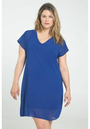 Korte jurk - blue bic