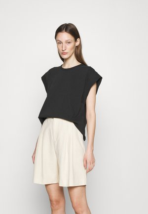RYDER MUSCLE LABEL - T-Shirt basic - black