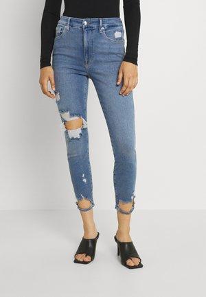 GOOD WAIST CROP - Skinny džíny - blue
