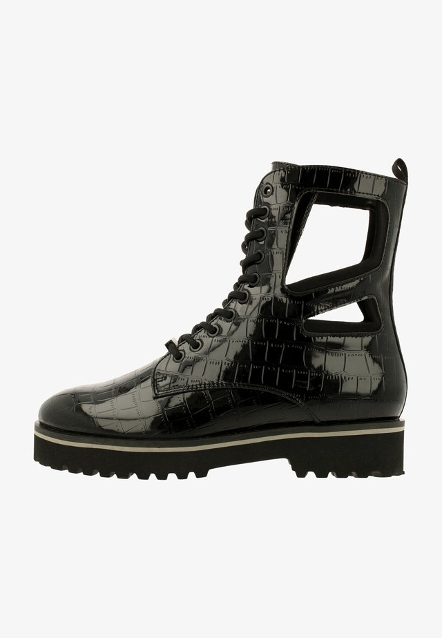 CROCO - Veterboots - black-black