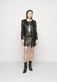 Iro - COMPLET  - Leather jacket - black - 1