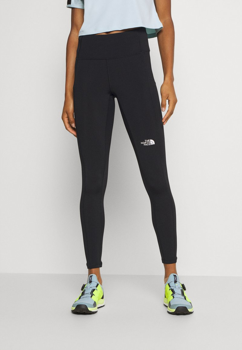 The North Face - WINTER WARM HIGH RISE - Leggings - black