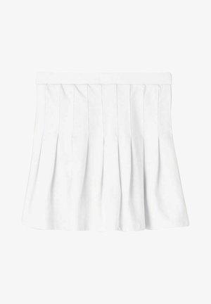 Plooirok - bright white