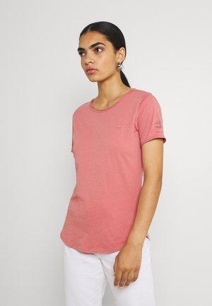 MYSID OPTION SLIM - Print T-shirt - dusty rose