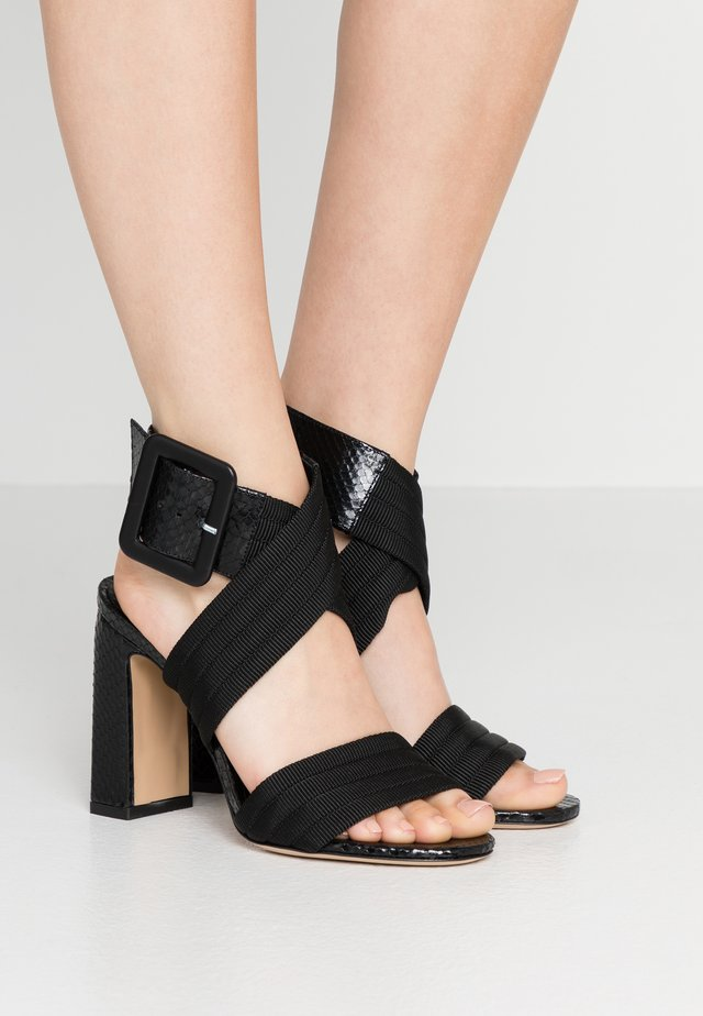 MARTY  - High heeled sandals - nero