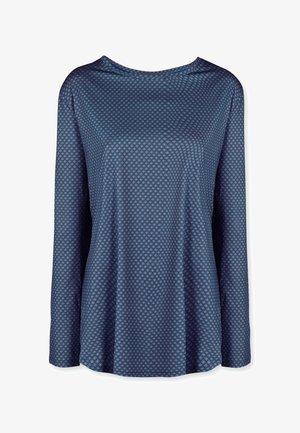 TAMAR FLOWER - Sportshirt - blue