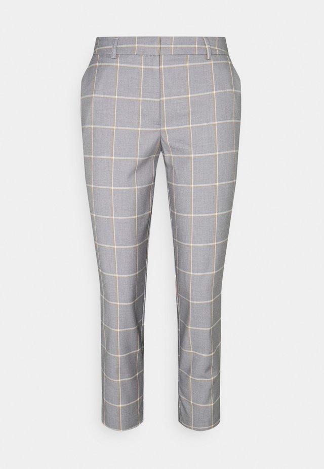 BACK NAPLES ANKLE GRAZER - Trousers - light grey
