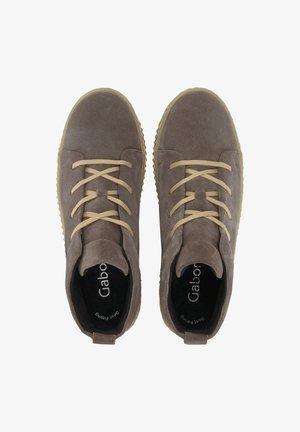 Platform ankle boots - dunkelgrau