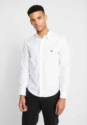 BATTERY SLIM - Shirt - white