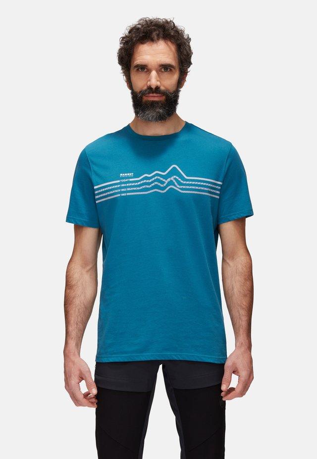 SEILE  - T-shirt con stampa - sapphire
