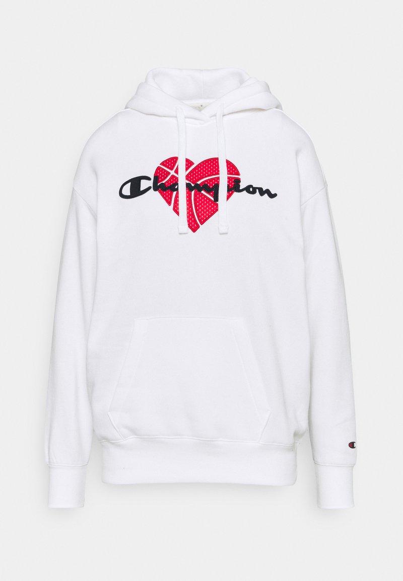 Champion - LOVE HOODED  - Sweatshirt - white