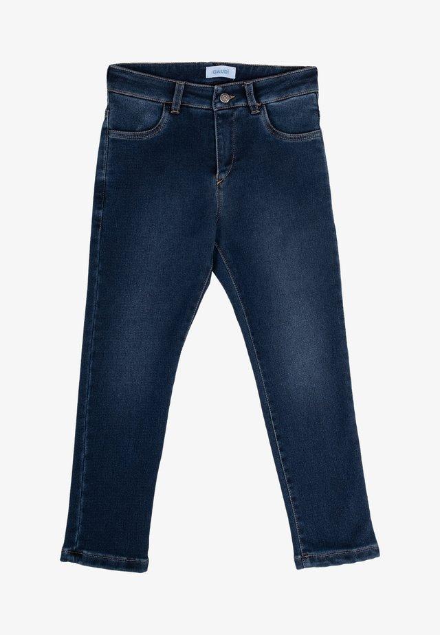 Jeans a sigaretta - blu