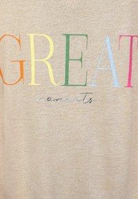 Street One - Print T-shirt - braun - 4