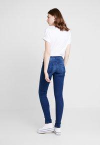 ONLY - ONLFCARMEN - Jeans Skinny Fit - dark blue denim - 2