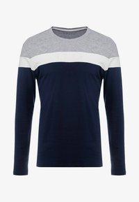 Pier One - Bluzka z długim rękawem - grey/dark blue - 3