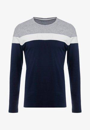 Longsleeve - grey/dark blue