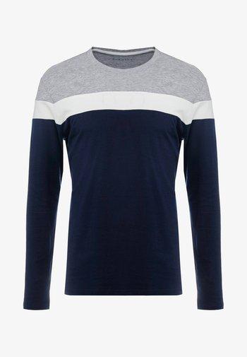 Maglietta a manica lunga - grey/dark blue