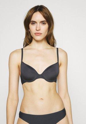 SOFT STRIPES SEXY PADDED SPACER BRA - Underwired bra - dark grey