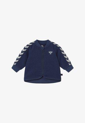 JAMIE ZIP - Fleece jacket - black iris