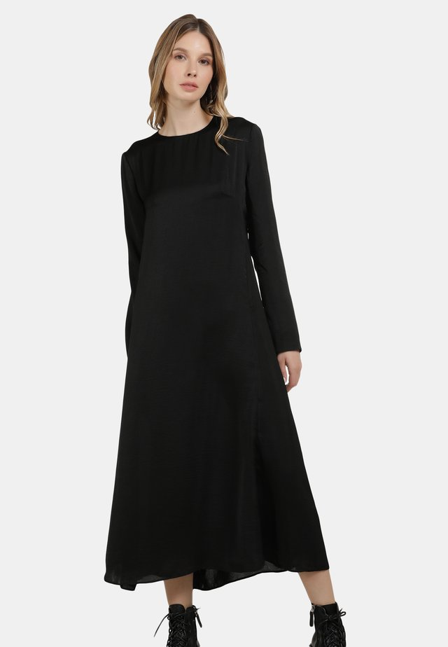 MIDI-KLEID - Denní šaty - schwarz