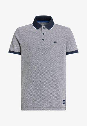 MET VISGRAATDESSIN - Poloshirt - blue