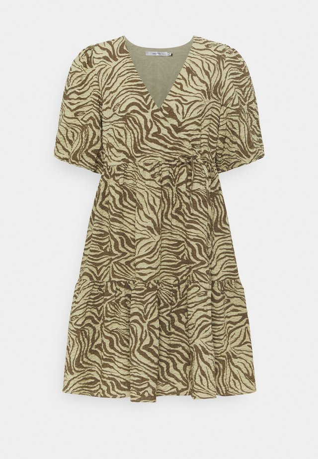 AVERY SHORT DRESS - Korte jurk - elm