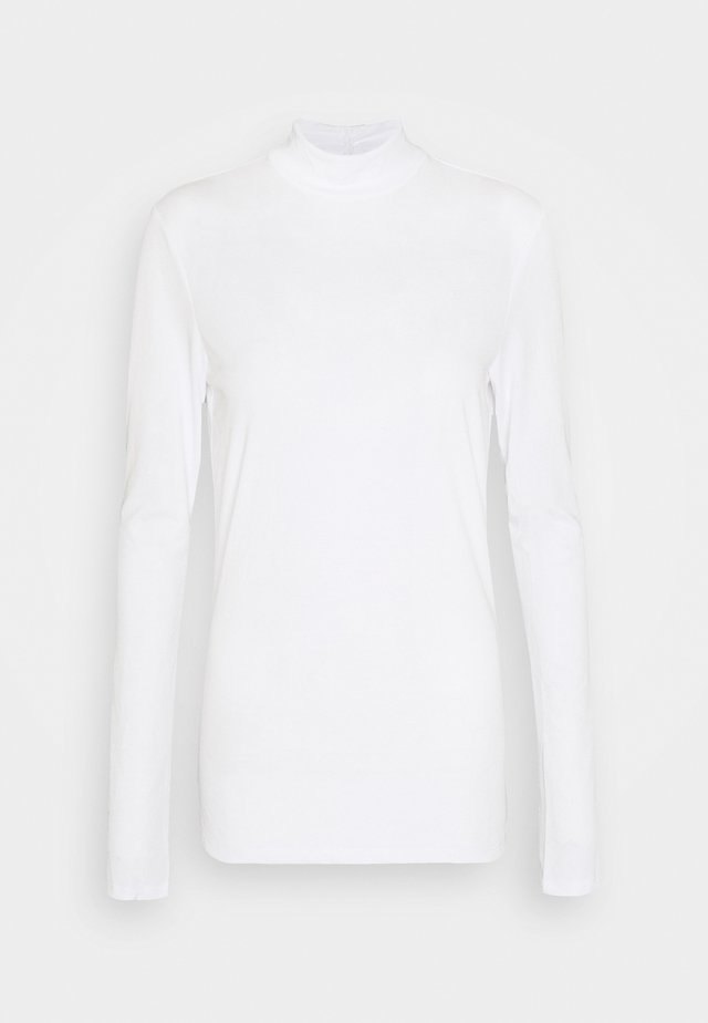 OBJCAROLINE MATHILDE - Long sleeved top - cloud dancer