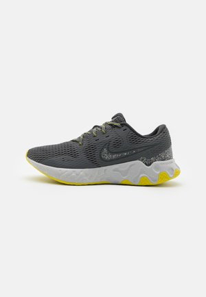 RENEW RIDE 2 PRM - Scarpe running neutre - iron grey/dark smoke grey/high voltage/light smoke grey/limelight/grey fog
