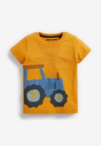 Next - 3 PACK  - Print T-shirt - yellow - 3