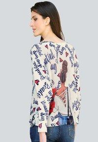 Alba Moda - Sweatshirt - off-white,marineblau - 2