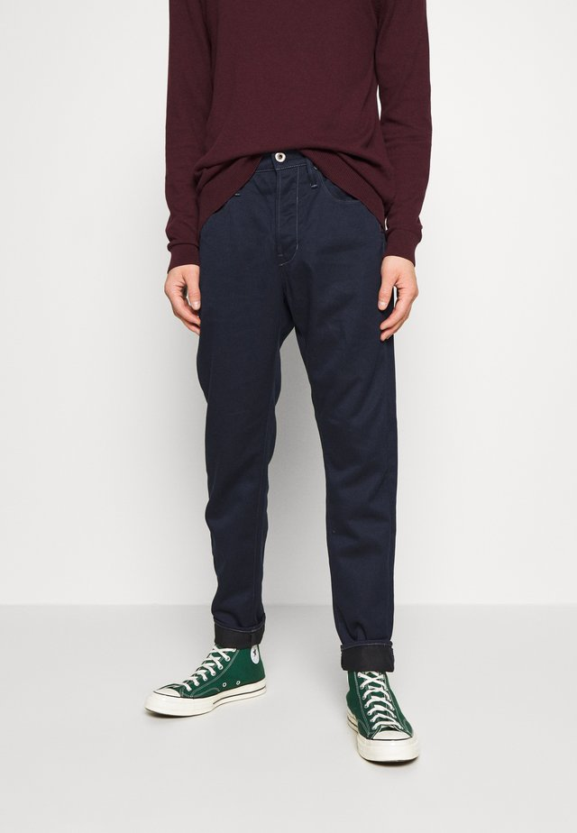LOIC RELAXED - Relaxed fit jeans - dark-blue denim