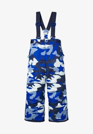 Jumpsuit - blue camo