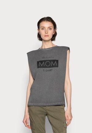 SUNE - Print T-shirt - dark gull gray