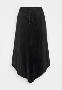 Club Monaco - PLEATED SCOOP HEM SKIRT - Jupe plissée - black - 3