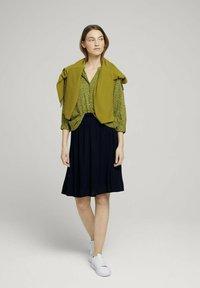 TOM TAILOR - Blouse - green geometrical design - 1