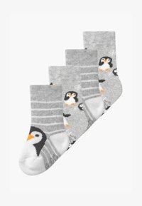 Ewers - THERMO PENGUIN UNISEX 4 PACK - Sokken - grau - 0