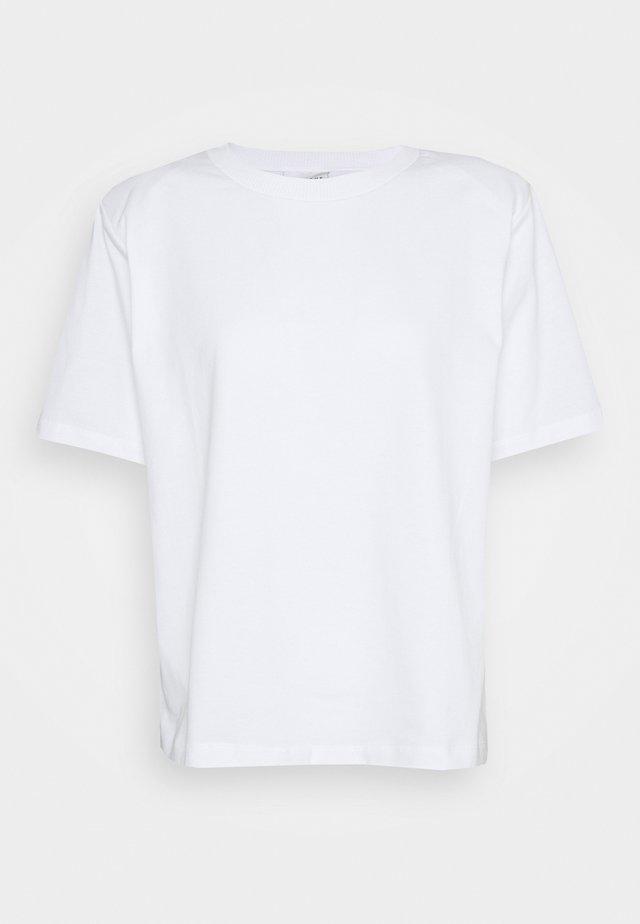 MAINTAIN - T-shirt basic - white