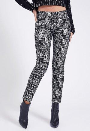 Jeans Skinny Fit - mehrfarbig, weiß