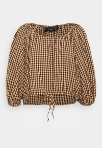 Mossman - THE CHECKED OUT - Longsleeve - orange - 4
