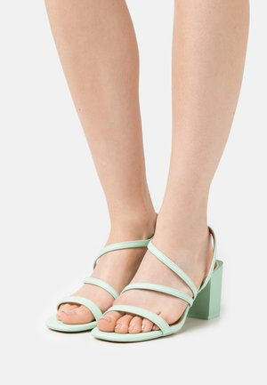 ASTEANI - Sandalias - light green