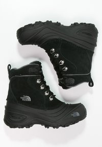 The North Face - Y CHILKAT LACE II - Winter boots - tnf black/zinc grey - 1
