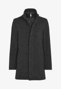 Next - FUNNEL NECK ZIP THROUGH COAT - Short coat - black - 4