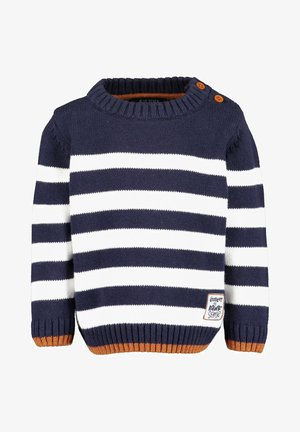 DINO ADVENTURE - Pullover -  nachtblau stripe