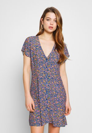 MILLA COAST FLORAL DRESS - Day dress - blue