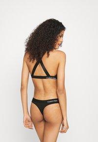 Calvin Klein Underwear - THONG - Tanga - black - 2