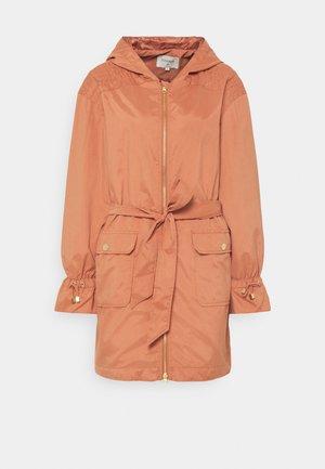 SHANA LONG JACKET - Short coat - aragon