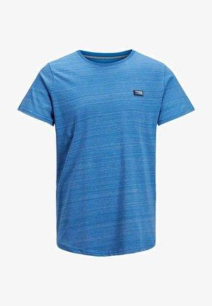 SLIM FIT - T-shirt print - deep water