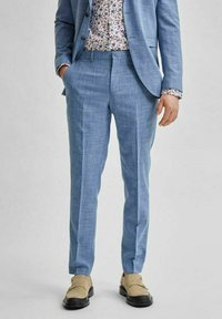 Selected Homme - Suit trousers - light blue - 0