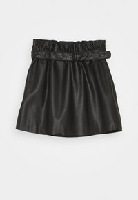 Name it - NKFLORENA SKIRT - Minirok - black - 0